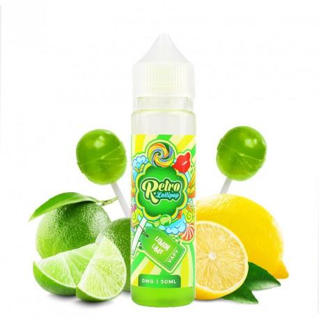 E-liquide Lemon Lime par Lollipop Retro