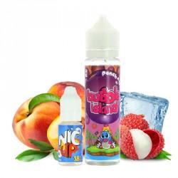 E-liquide Peach & Lychee + booster par Bubble Island