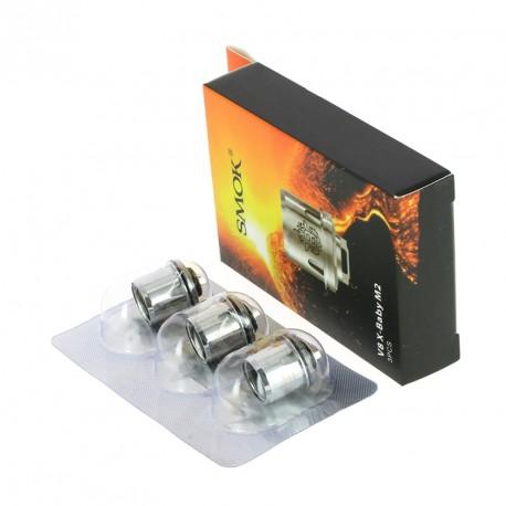 Résistances (x5) pour TFV8 X-Baby par Smoktech