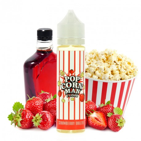 E-Liquide Strawberry Drizzle par Popcorn Man