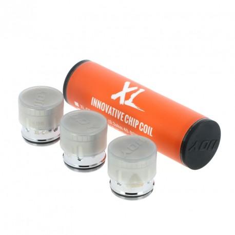 Pack de 3 résistances XL-C4 Light-up Chip Coil par iJoy