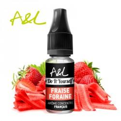 Arôme Fraise Foraine par A&L (10ml)