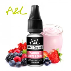 Arôme Yaourt Fruits Rouges par A&L (10ml)