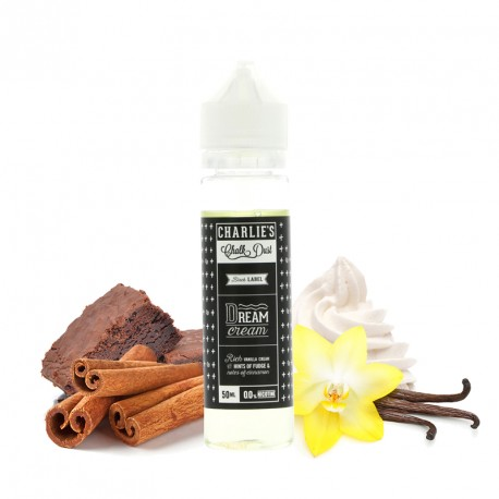 E-liquide Dream Cream 50 ml par Charlie's Chalk Dust