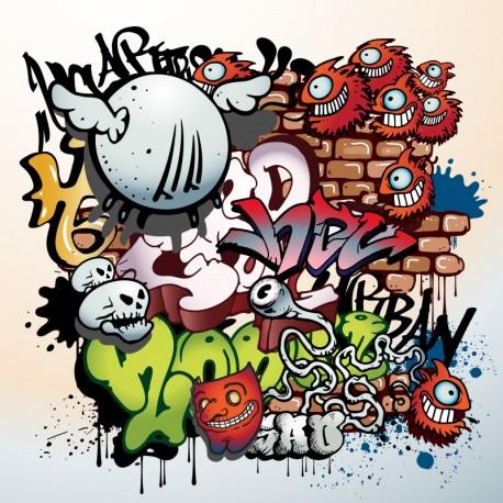Kit de Stickers graffiti pour votre box