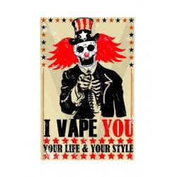 Kit de Stickers Vape You pour votre box