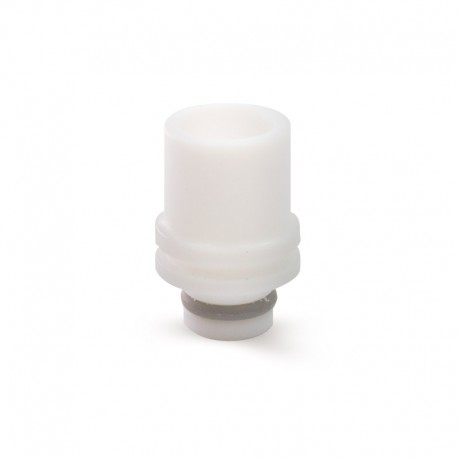 Drips Tips en téflon blanc