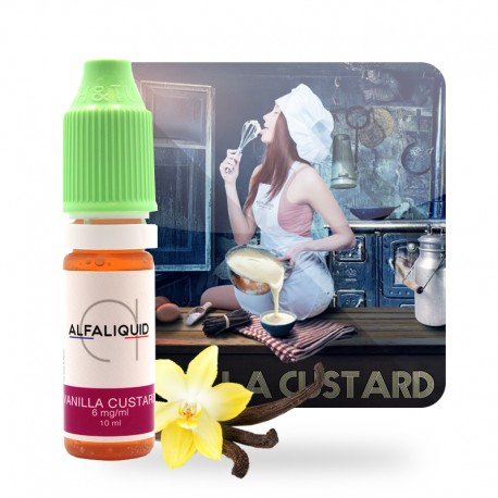 E-liquide Vanilla Custard alfaliquid 10ml