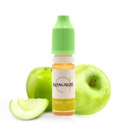 E-liquide Pomme Verte Alfaliquid 10ml
