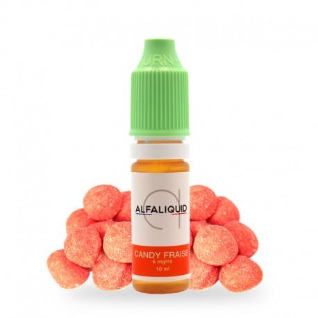 E-liquide Candy Fraise Alfaliquid 10ml
