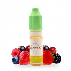 E-liquide Fruits Rouges Alfaliquid 10ml