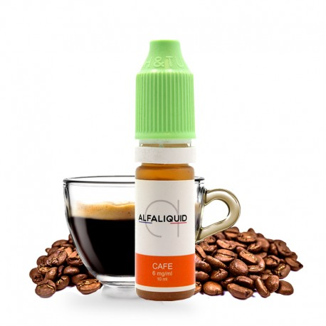 E-liquide Café Alfaliquid 10ml