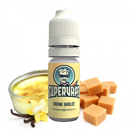Concentré Crème brûlée par Supervape