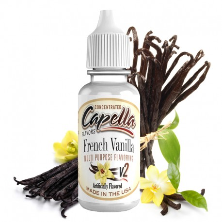 Arôme French Vanilla V2 par Capella