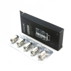 Pack de 5 Résistances M-CLP2 pour TFV4 Micro par Smoktech