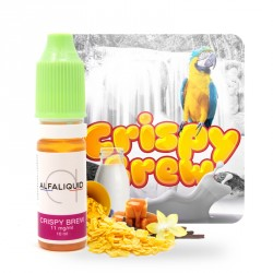 E-Liquide Crispy Brew par Alfaliquid