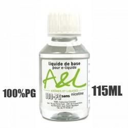 Liquide de base nicotiné 100% PG (115ml)