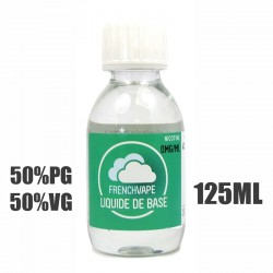 Liquide de base 50/50 French Vape 125ml