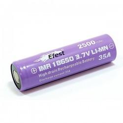 Accu Efest purple V1 18650 IMR 2500 mAh