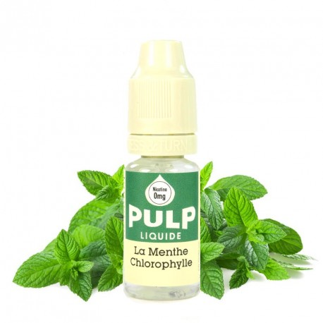 E-liquide menthe chlorophylle PULP 10ml