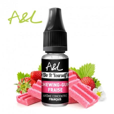 Arôme Chewing-Gum Fraise par A&L (10ml)
