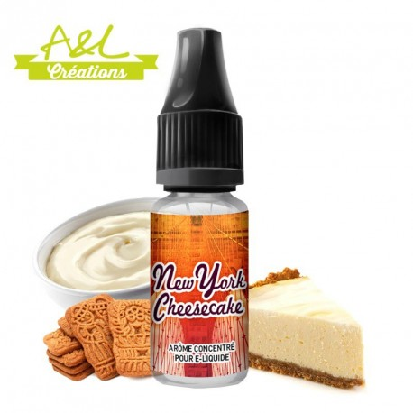 Concentré New-York Cheesecake par A&L (10ml)