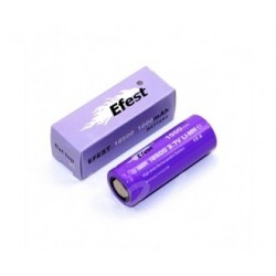 Accu Efest Purple série V1 18500 IMR