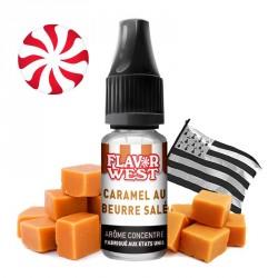 Arôme Caramel au beurre salé par Flavor West (7ml)