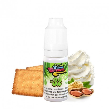 E-Liquide Sweet Cream n°32 par Eliquid France
