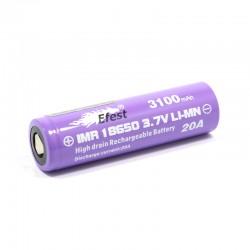 Accu Efest purple 18650 IMR 3100 mAh