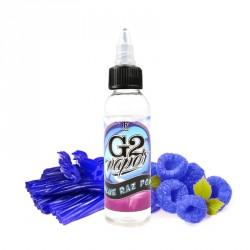 E-liquide Blue Raz Pop par G2 Vapor