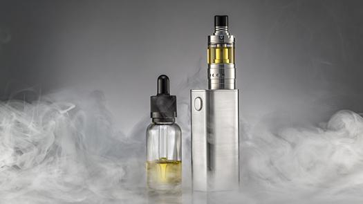 Kit e-cig avec e-liquide