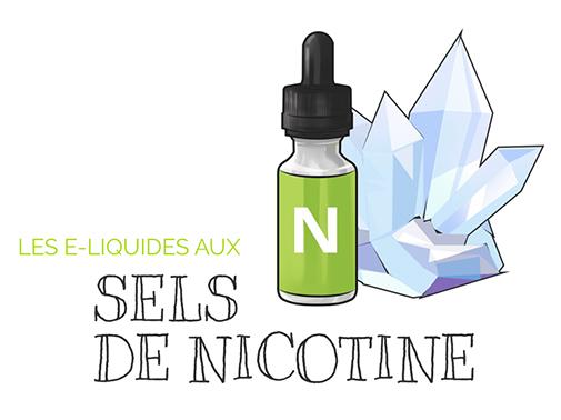 Les sels de nicotines