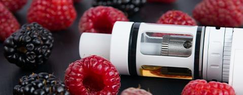 Liquide saveur fruits rouges