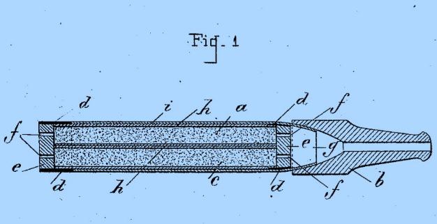 Prototype de cigarette électronique par Henry Ferré