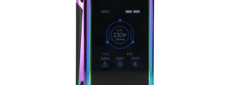 L'écran de la Box G-Priv 2 Luxe par Smocktech