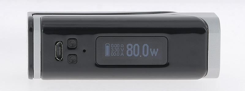 L'écran de la box Ikuu i80 par Eleaf