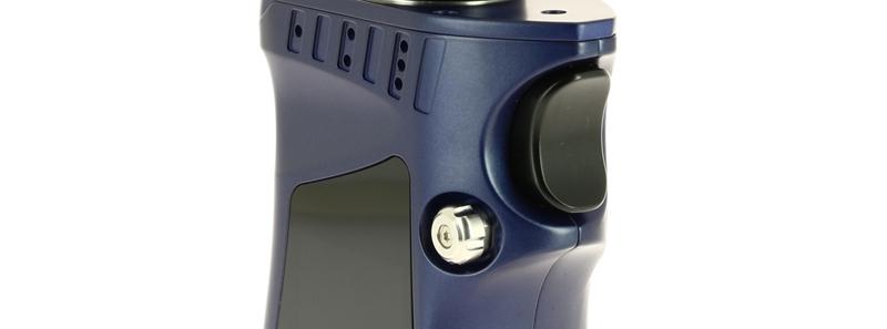 Le bouton de la trappe à accus de la Box Mag par Smoktech