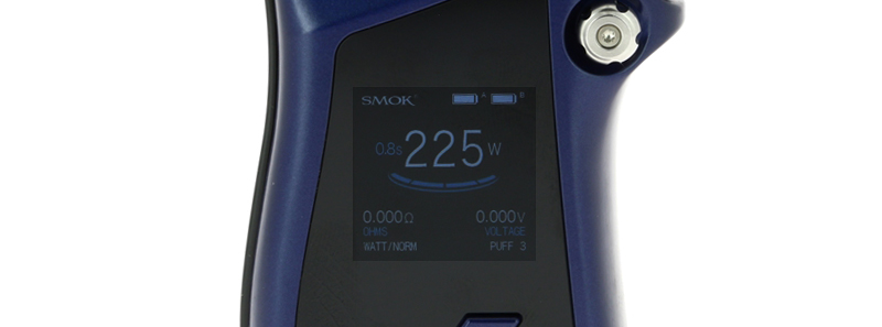 L'écran de la Box Mag par Smoktech