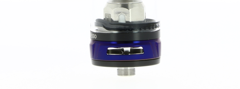 Les arrivées d'air du NRG Tank du Kit Switcher par Vaporesso