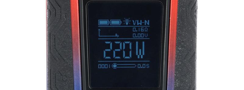 L'écran du kit Switcher par Vaporesso