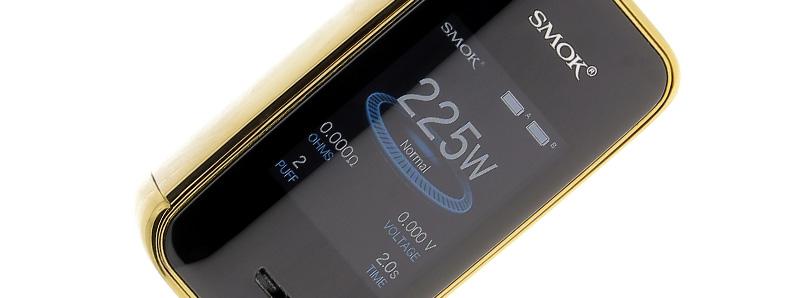 L'écran de la Box X-Priv par Smoktech