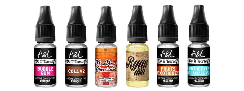 Quels arômes choisir ?