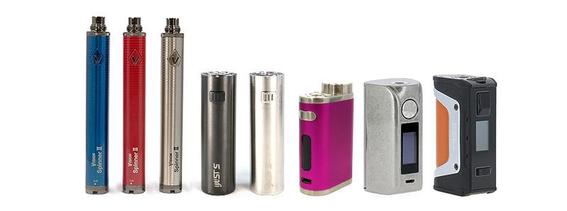 Les batteries composants de la cigarette électronique