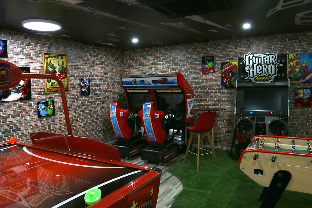 Salle d'arcade d'A&L