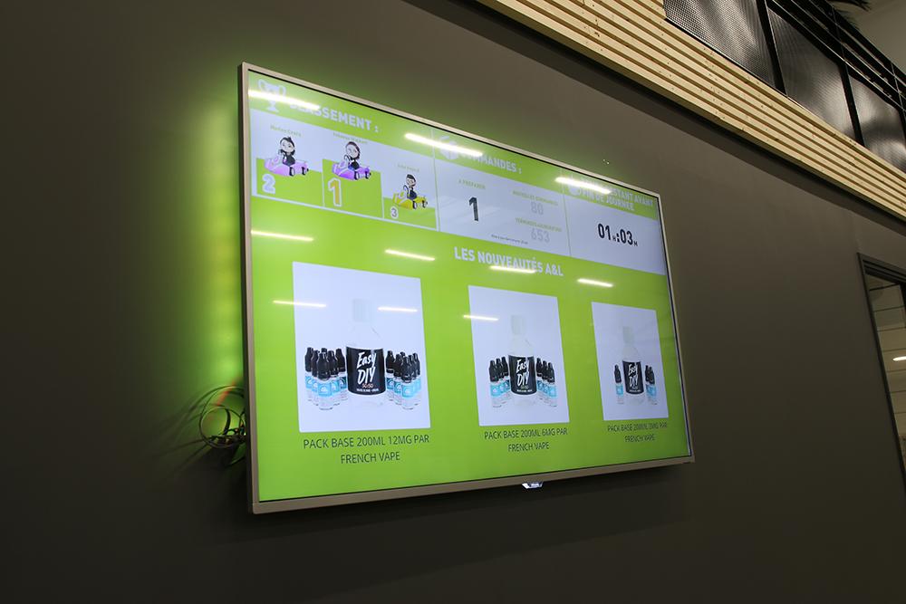 Télévision d'informations atelier d'A&L