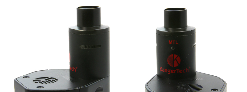 Airflows du dripper du kit Dripbox 160 par Kangertech