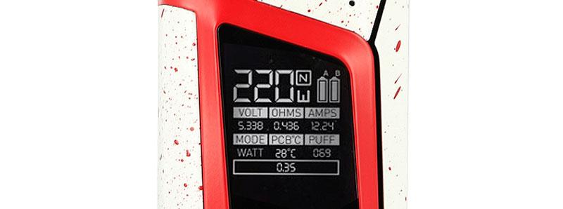 Ecran Alien 220 Dexter Smoktech