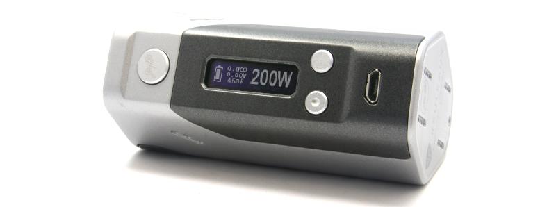 L'écran de la Reuleaux DNA200