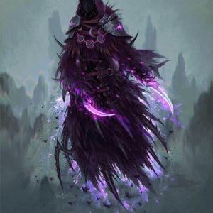 violette des ténèbres